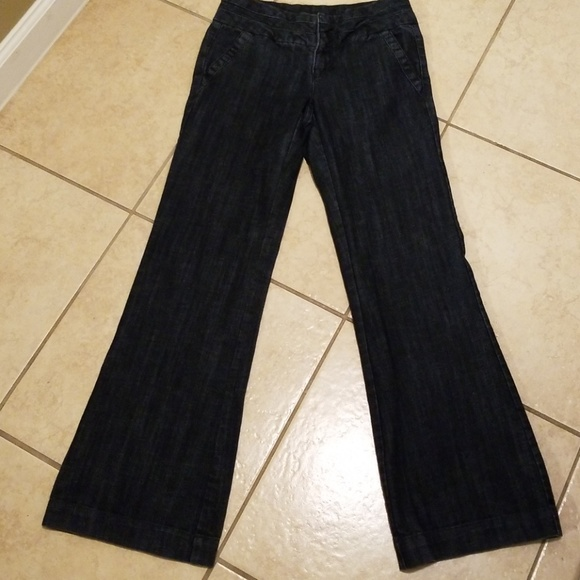 Maurices Denim - Maurices Dark Wash Trouser Jeans Size 3/4